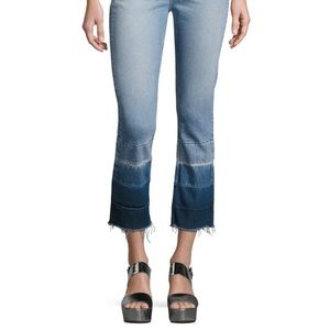 3x1 Shelter straight high waisted cropped jeans 32